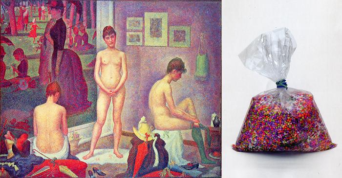 Georges Seurat, Les Poseuses, 1884-1886