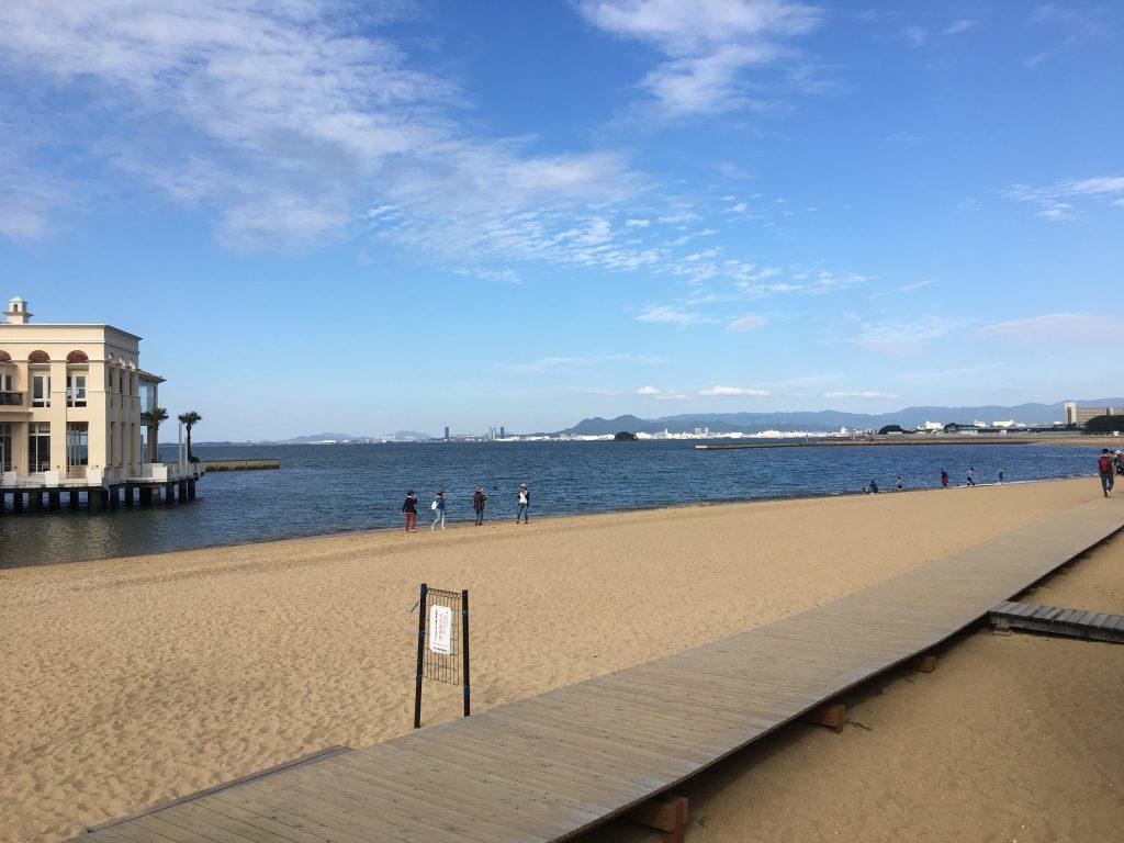 모모치 해변